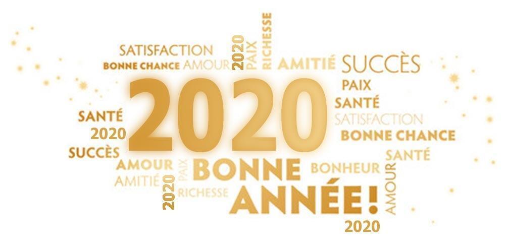 """Résultat de recherche d'images pour """"bonne année 2020 et meilleurs voeux"""""""
